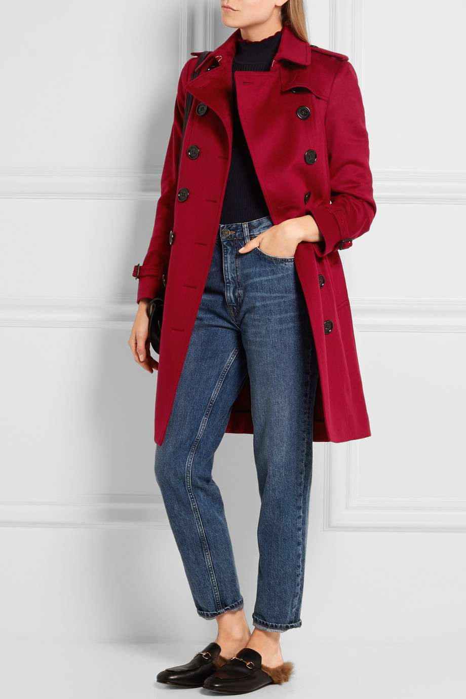 Trench Burberry rosso