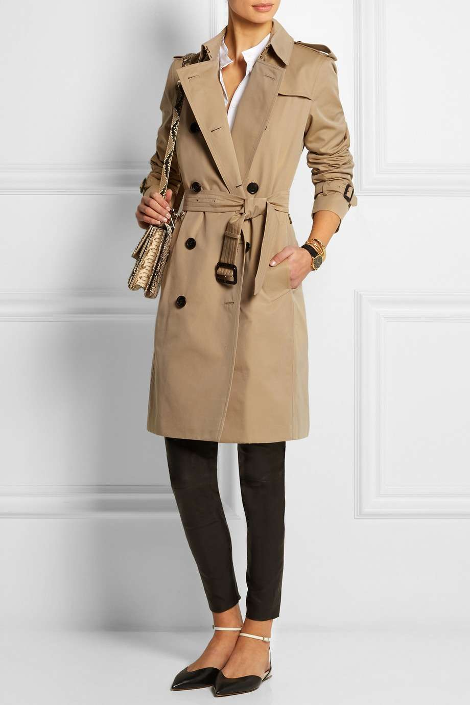 Trench beige Burberry