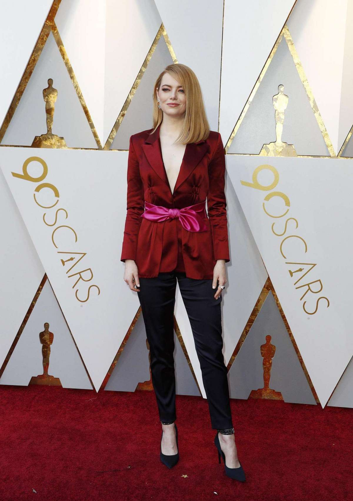 Emma Stone in Louis Vuitton