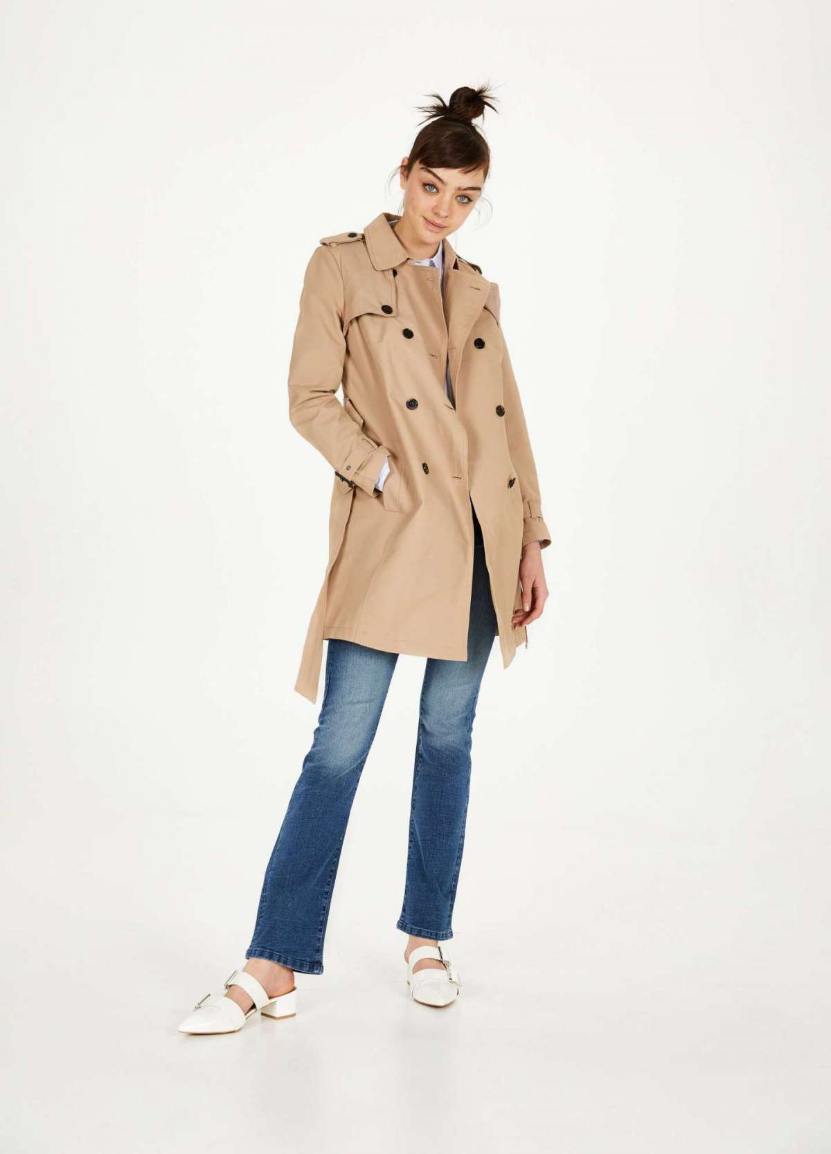 Trench beige OVS a 69,99 euro