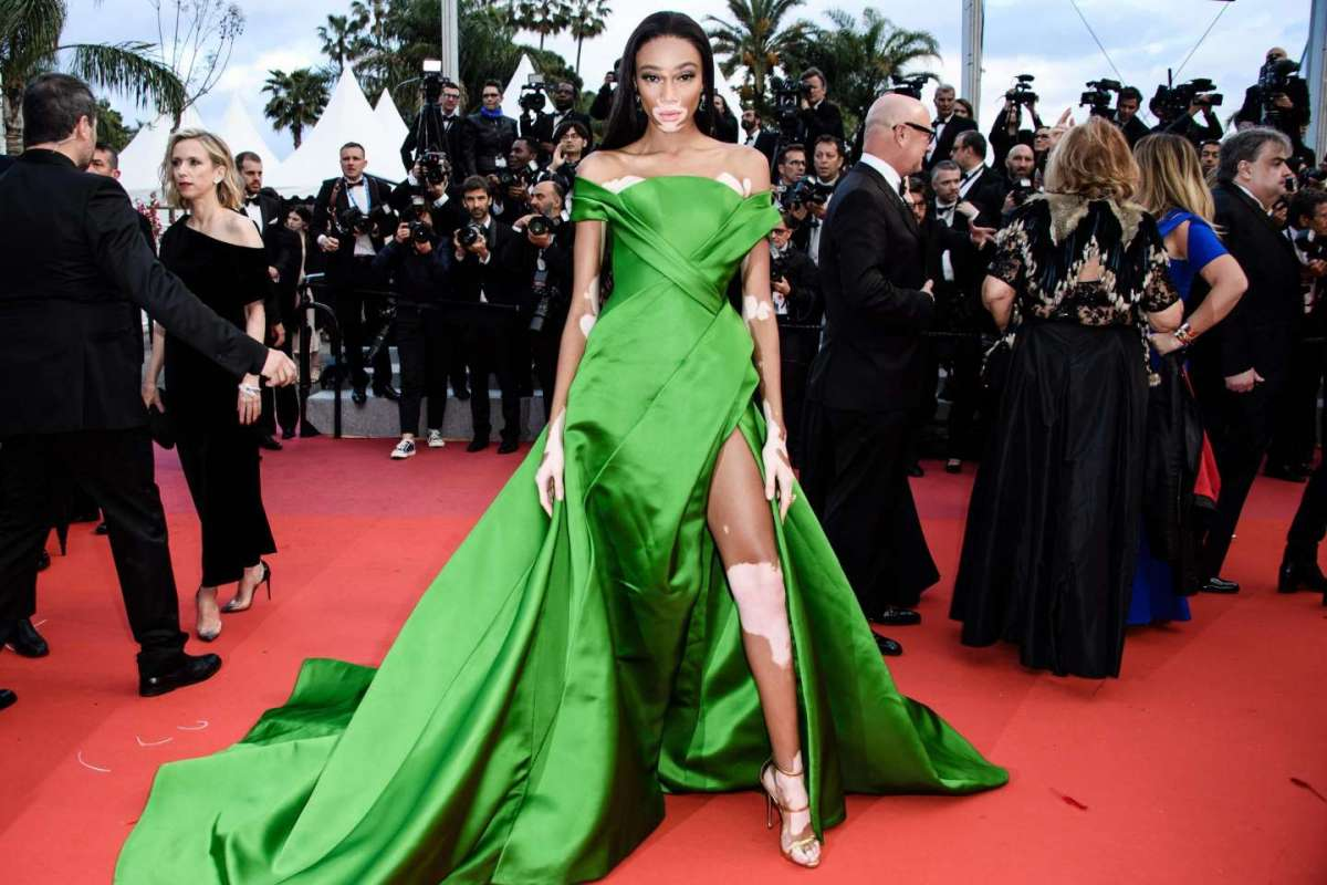 Winnie Harlow in Ralph&Russo Couture