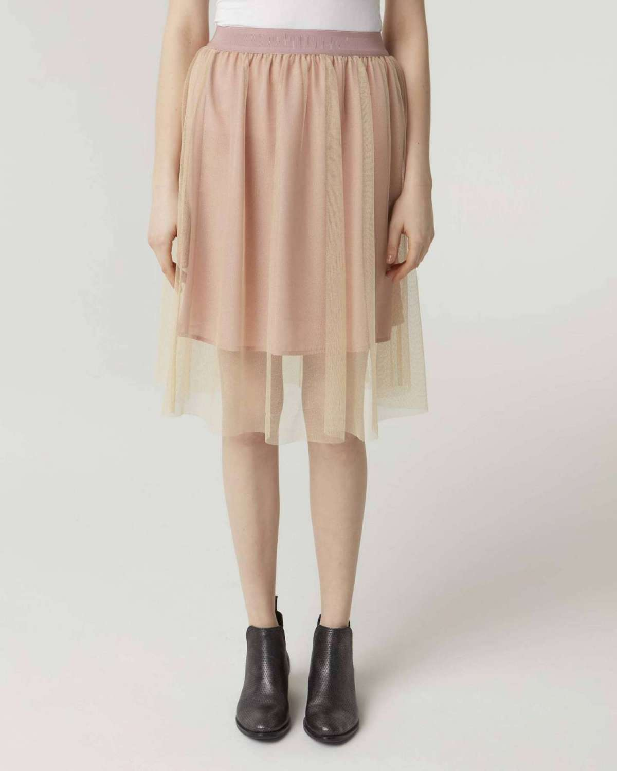 Gonna in tulle Sisley a 49 euro