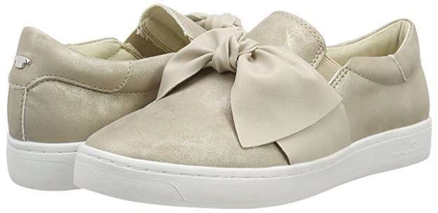 Slip on sneakers con fiocco Tom Tailor