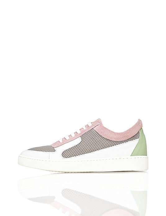 Sneakers rosa e bianche Find