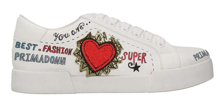 Scarpe sneakers Primadonna decorate
