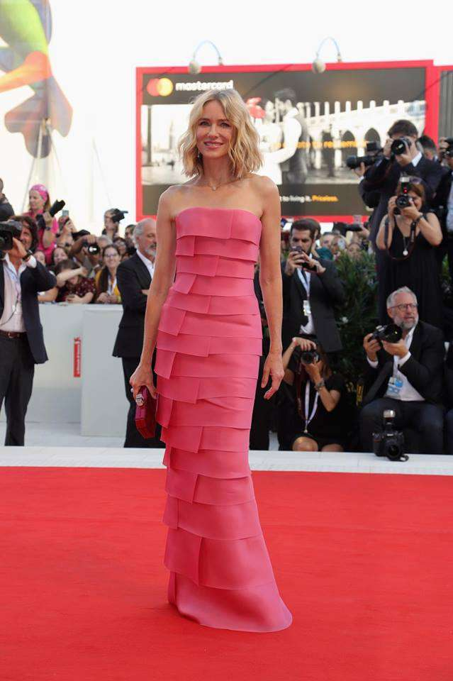 Naomi Watts in Armani Privè