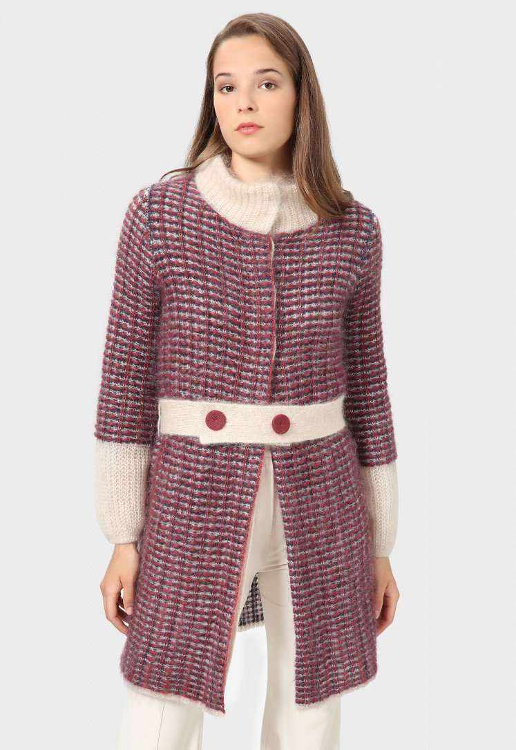 Cappotto in lana mohair Stefanel a 295 euro