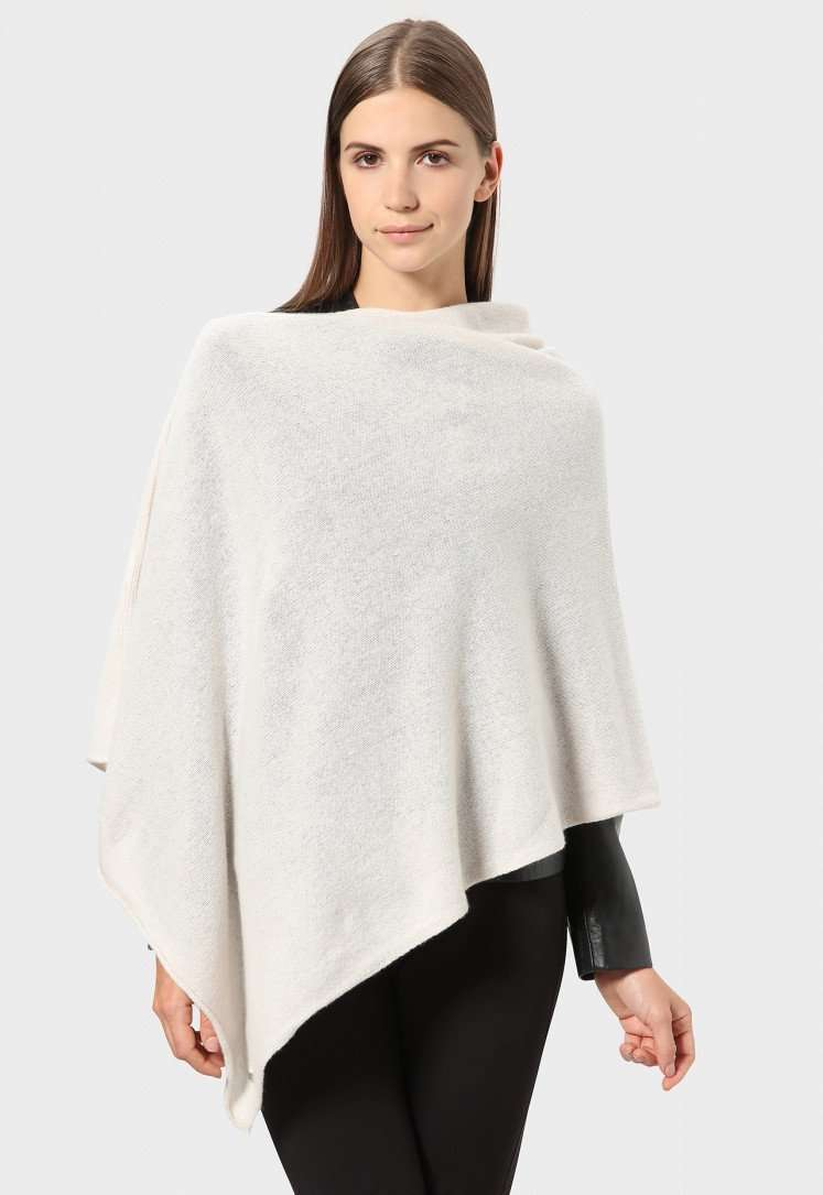Poncho in cashmere Stefanel a 185 euro