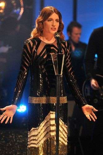 Look anni 20 per Florence Welch