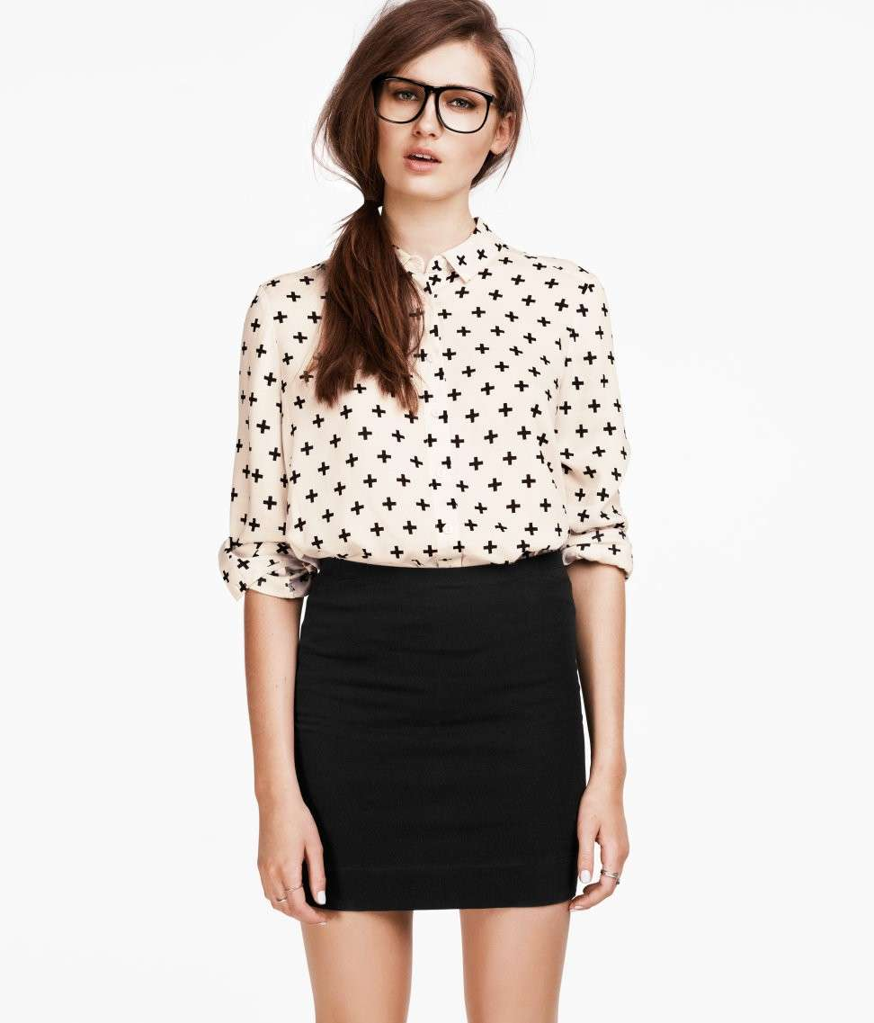 Look hipster chic H&M