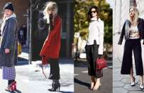Come abbinare i pantaloni cropped pants in inverno