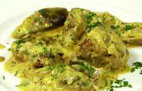 Agnello in fricassea