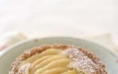 Crostata di pere light