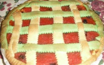 Crostata di anguria