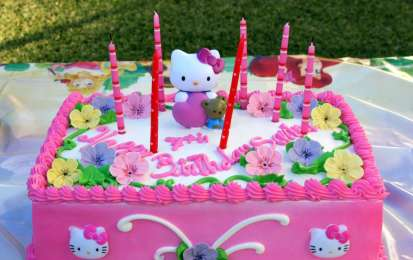 Idee torte di Hello Kitty
