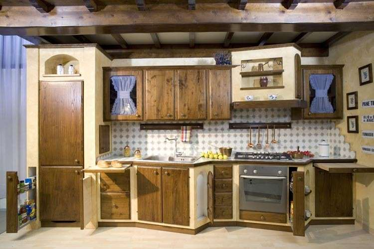 Stile country foto pourfemme - Cucine country ikea ...