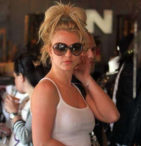 Britney Spears in canotta