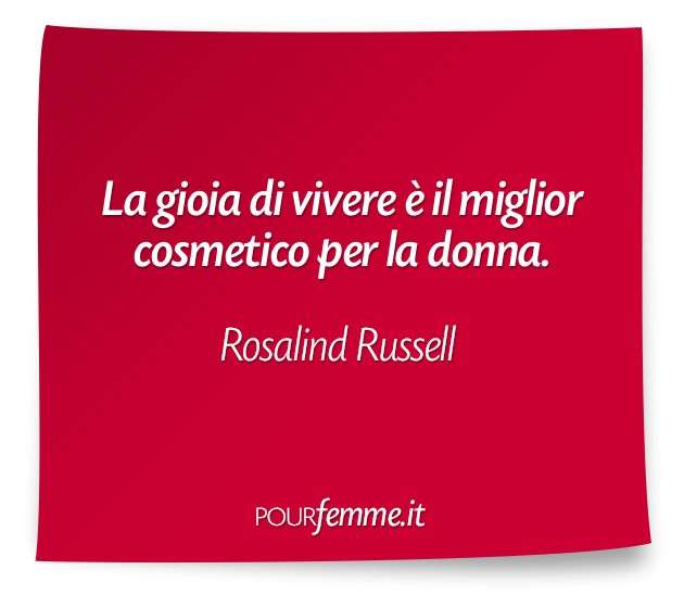 Frase di Rosalind Russell