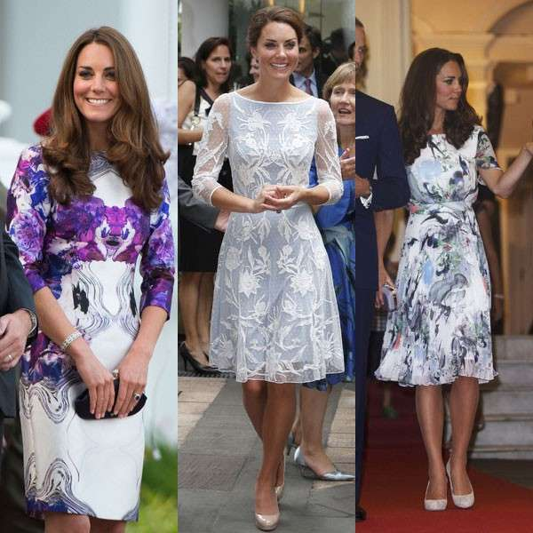 Kate middleton vestito celeste