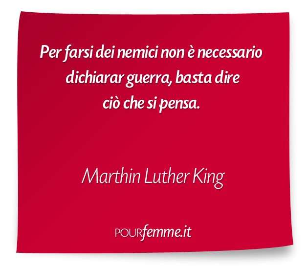 Frase di Marthin Luther King