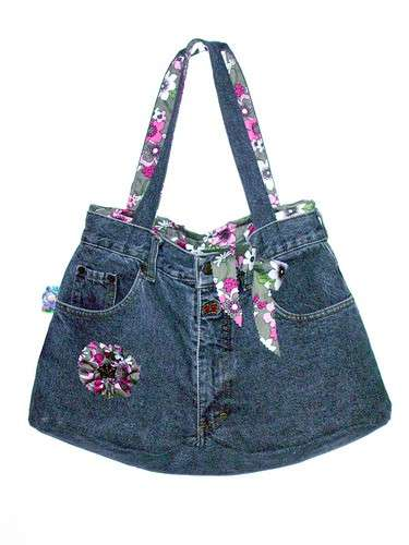 Come fare una borsa di jeans pourfemme for Borsa jeans tutorial
