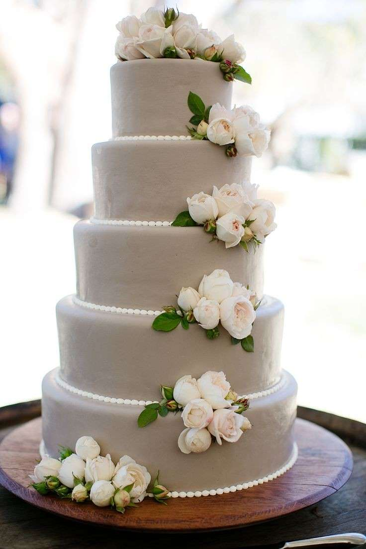 gray wedding cake torta di nozze foto 7 42 pourfemme 14903