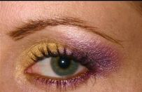 Make up tutorial oro e viola