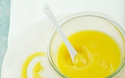 Crema di limone all'acqua