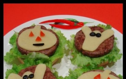 Hamburger per Halloween