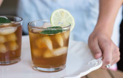 Ice tea al lime e rum