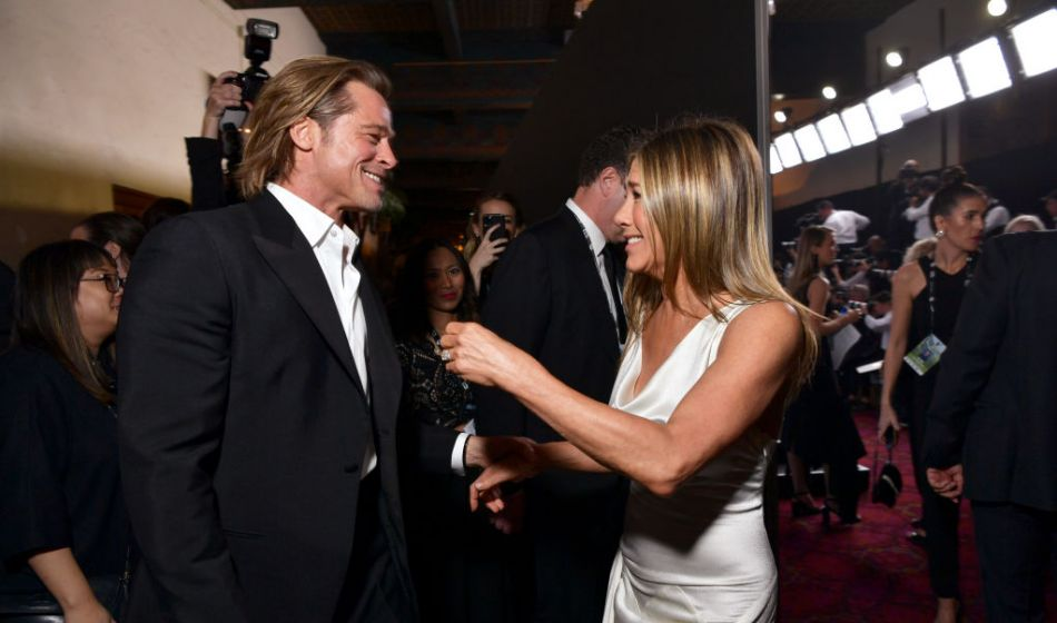 Sag Awards 2020: scintilla tra Brad Pitt e Jennifer Aniston?